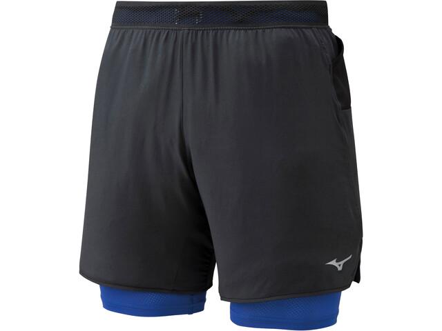 Mizuno ER 7.5 Pantaloncini 2in15 Uomo, black/dazzling bule